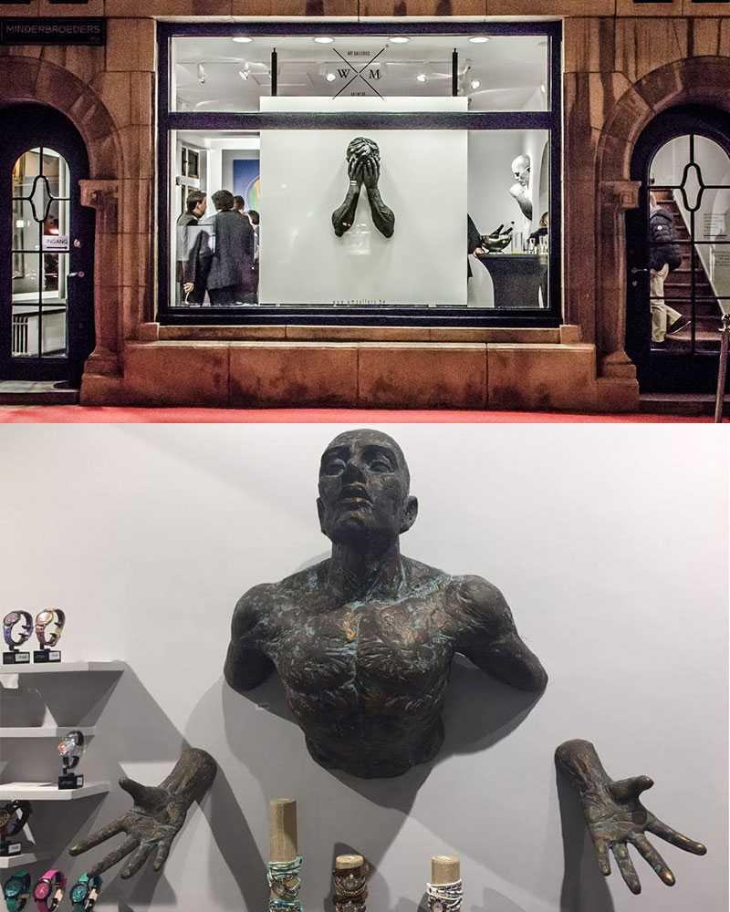 feedback of bronze statue