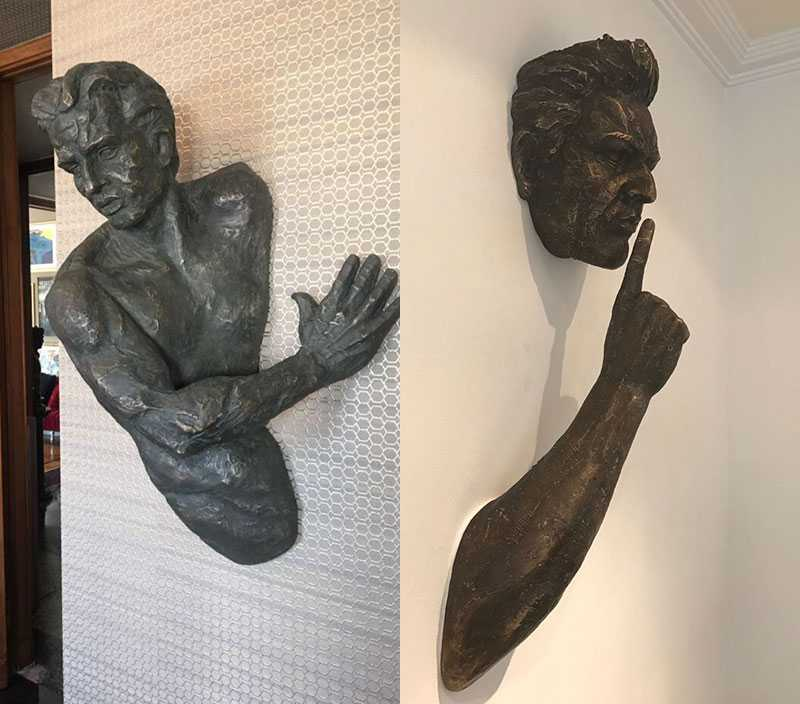 Indoor Cast Bronze Matteo Pugliese Sculpture Prices for sale wall decor