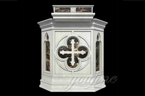 Beautiful modern design marble pulpit for church CHS-24