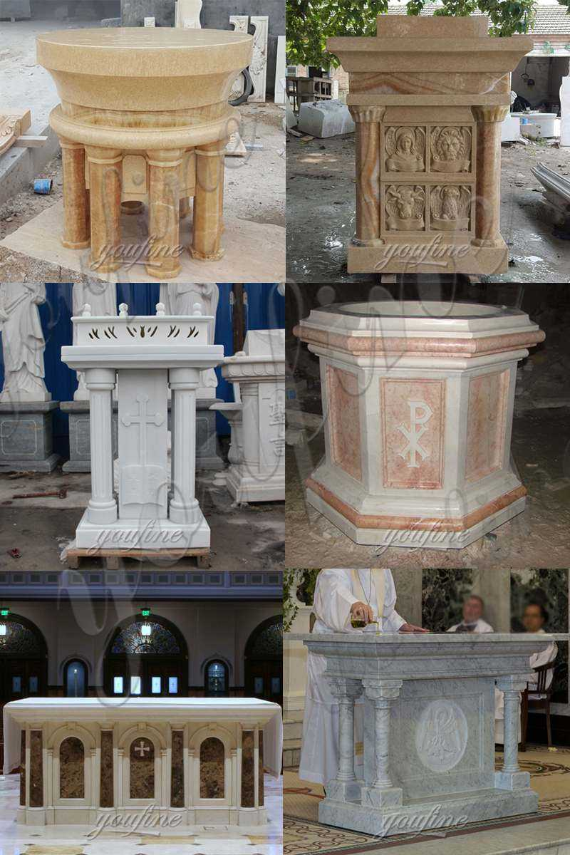 CHS-26Marble Pulpit for Church