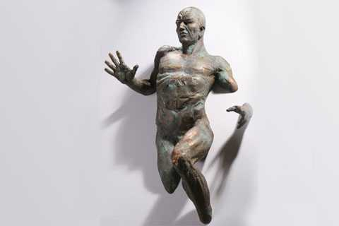 Home Decoration Famous Matteo Pugliese Sculpture Cast Bronze Replica Sculpture for Sale BOK-395