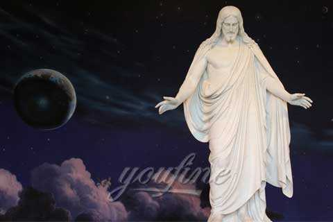 Western Christian Humane Life Size Marble Jesus Statues for Sale
