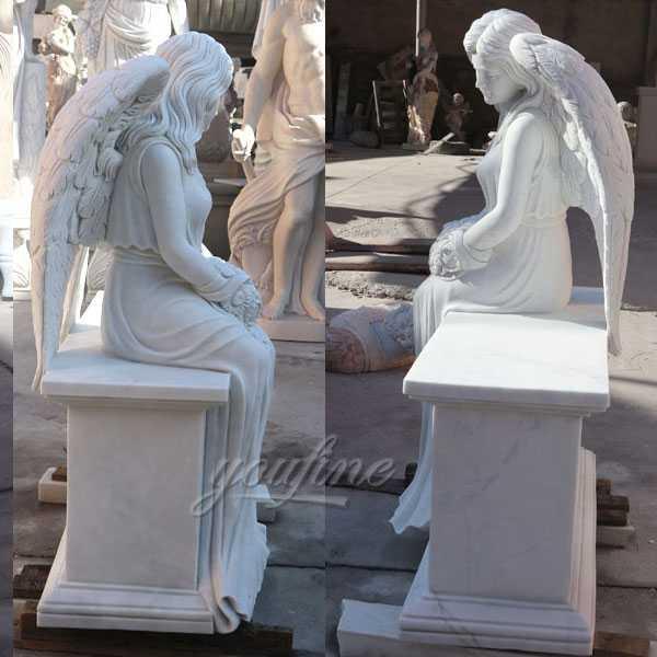 angels engraved on headstones
