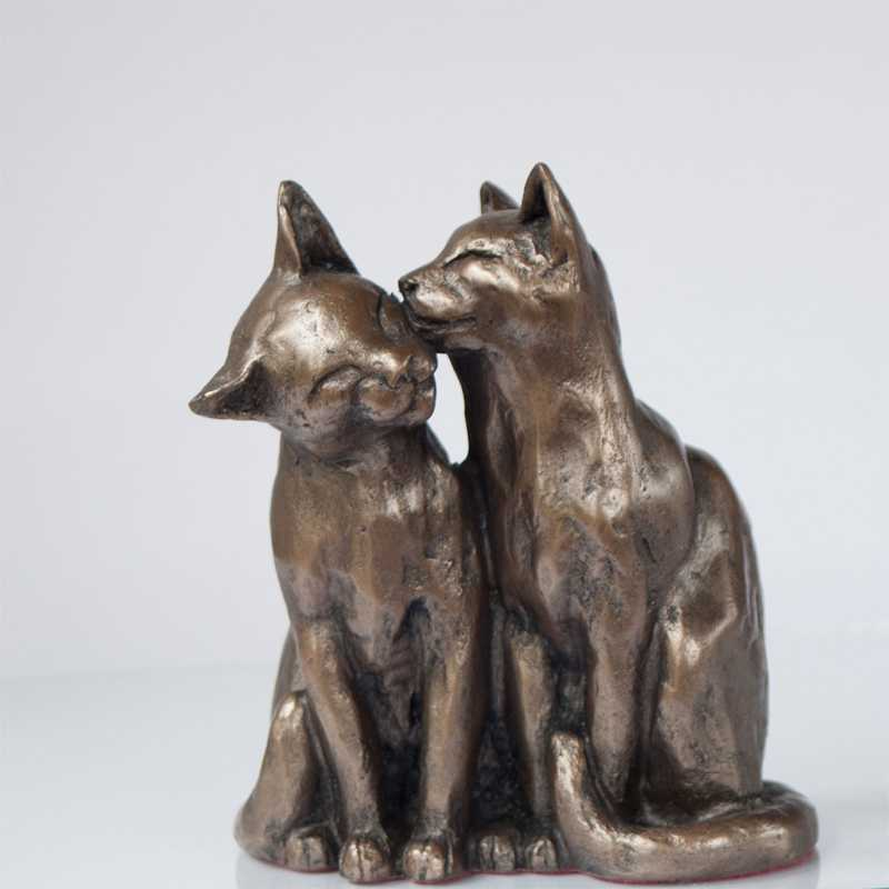 antique bronze cat statue for sale