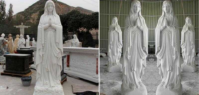 blessed mother statues for outside for sale