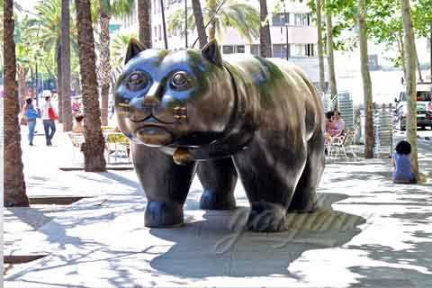 How Much Decorative Bronze Cat Sculpture
