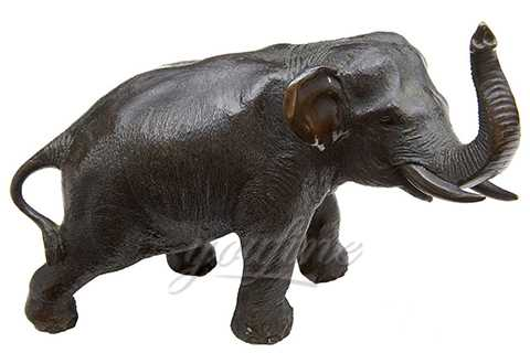 Garden and Street Decorative Metal Animal Sculpture Bronze Elephant Statue