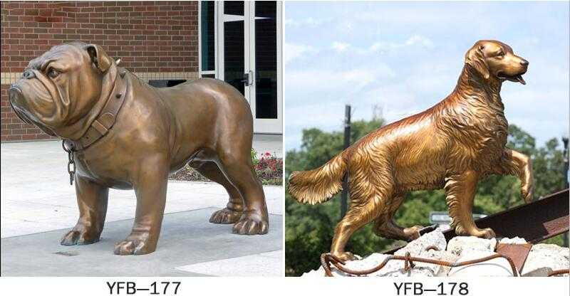 large outdoor dog statues for sale