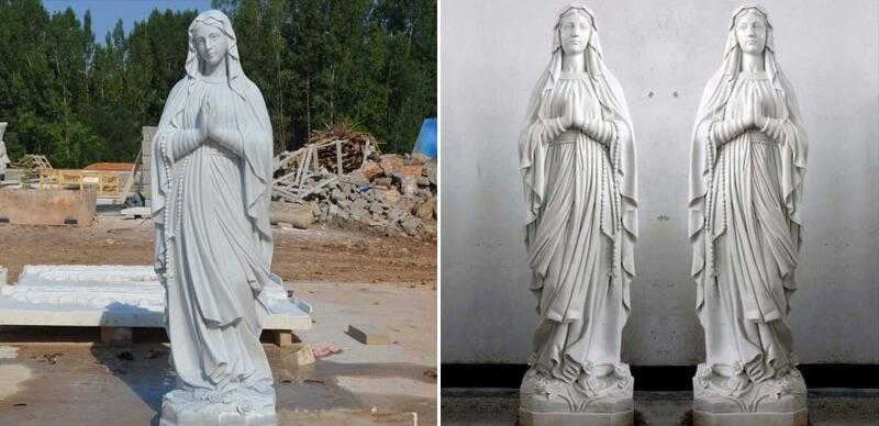 life size blessed mother statues for outside for sale