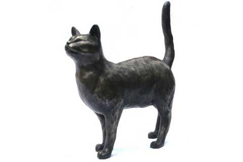 life size standing cat statue for sale