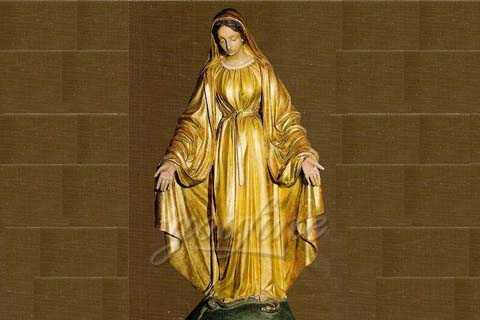 Life Size Bronze Virgin Mary Garden Statues For Sale