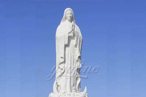 Life Size Stone Virgin Mary Marble Statues for Sale CHS-22