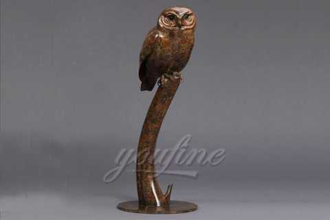 How much of the Metal Bronze Owl Sculpture from Chinese Factory