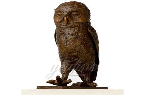 How much of the Metal Bronze Owl Sculpture for Sale