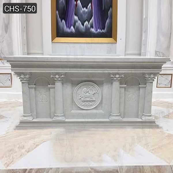 white marble altar for sale