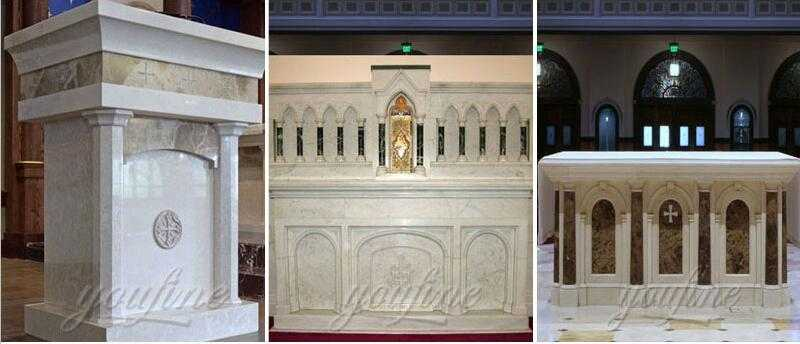 Popular Life Size Marble Altar for Sales