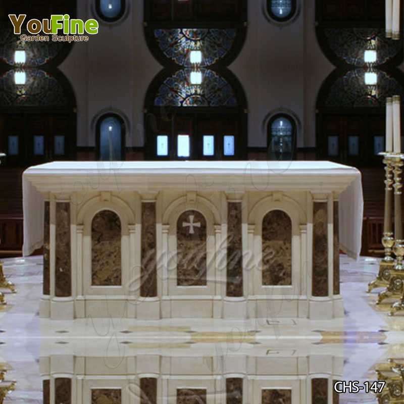 Where to Buy the Indoor Religious Church Altar Table for Sale