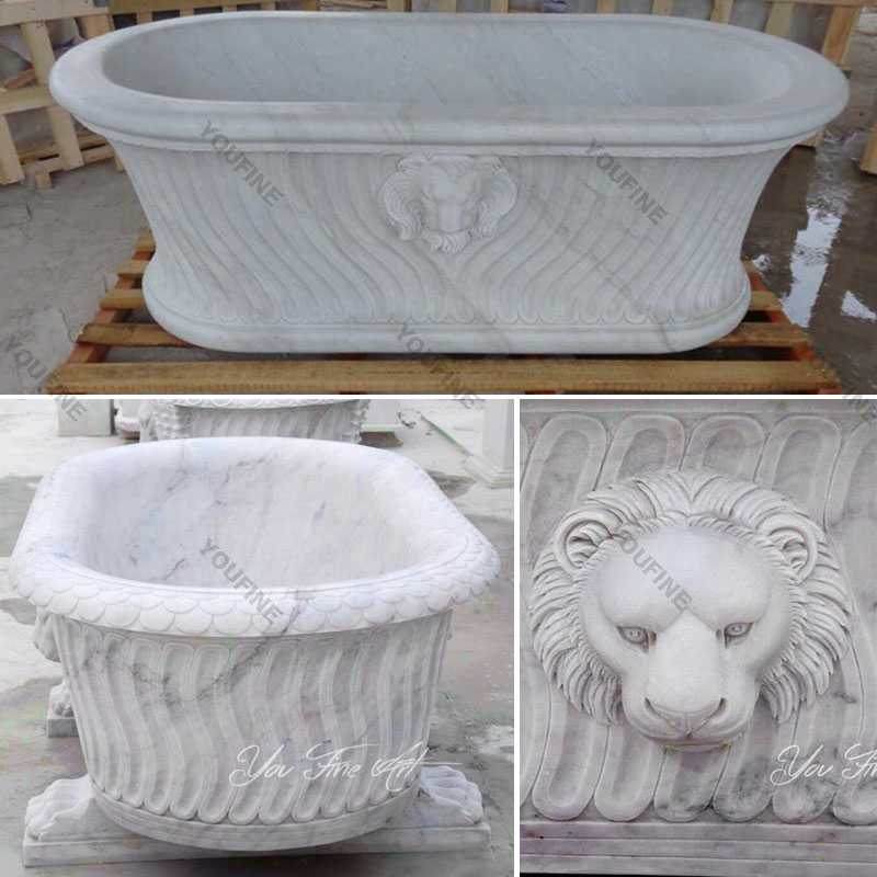 White marble bathtub for sale