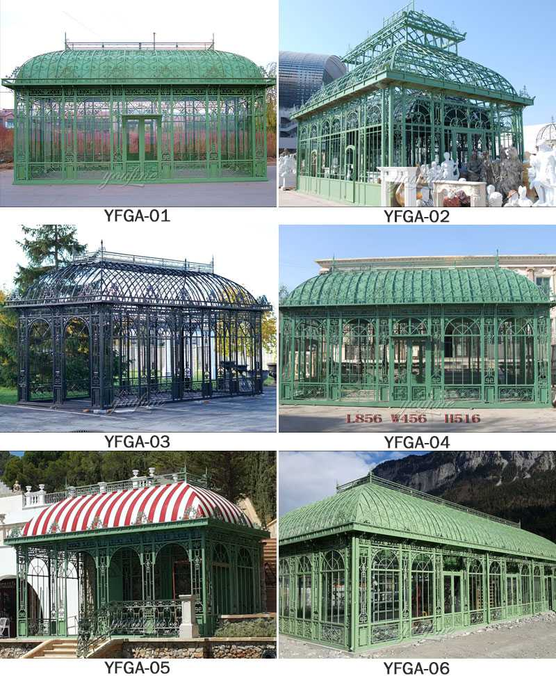 large garden greenhouse design for sale