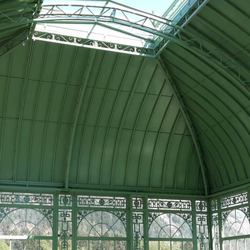 large outdoor wrought iron wedding gazebo designs for sale