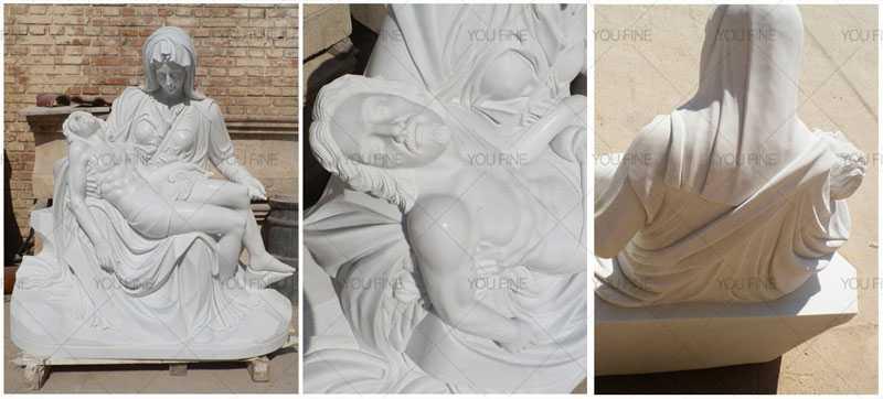 Life size religious sculpture pietaLife size religious sculpture pieta