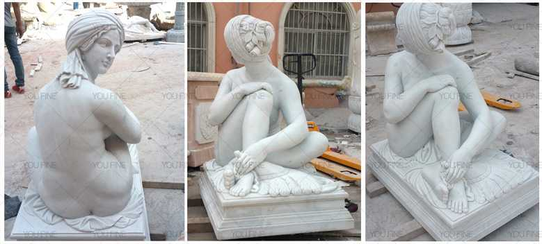 Famous marble sculptures of Odalisque statueFamous marble sculptures of Odalisque statue