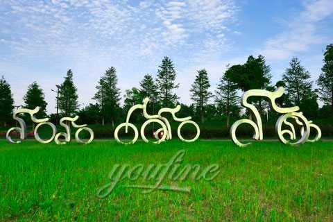 2019 New design 304 stainless steel sculpture with Long-term Service on sale