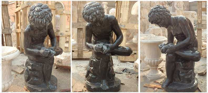 Famous marble sculptures of Boy with thorn statue for sale ...