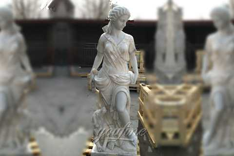 marble sculptures of Artemis