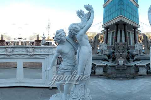 Famous art sculptures marble Apollo and Daphne statue for sale