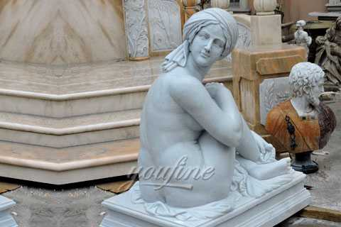 Famous marble sculptures of Odalisque statue for sale MOK-505