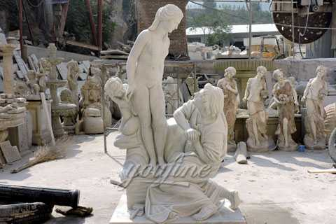 Famous sculpture of Pygmalion and Galatea sculpture for Netherlands client–MOK-558