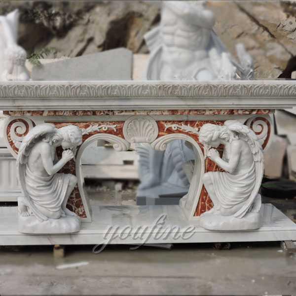 Church marble altar sculpture