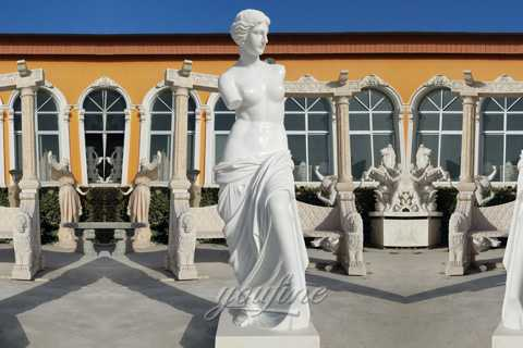 Famous Life Size Antique Marble Venus De Milo Art Statues For Sale