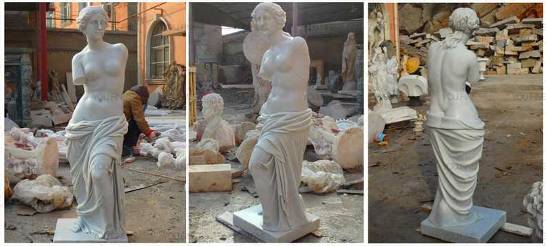 Antique Marble Life Size Venus De Milo Art Statues For Sale Home Decor