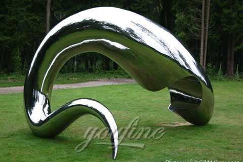 China Factory of Mirror Stainless Steel Sculptures for sale