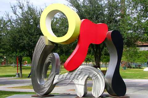High Quality 304 stainless steel garden sculpture for decor SSS-022