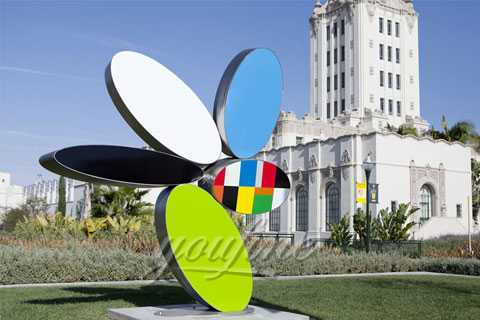 Outdoor Contemporary cartoon Stainless Steel Sculpture for Sale