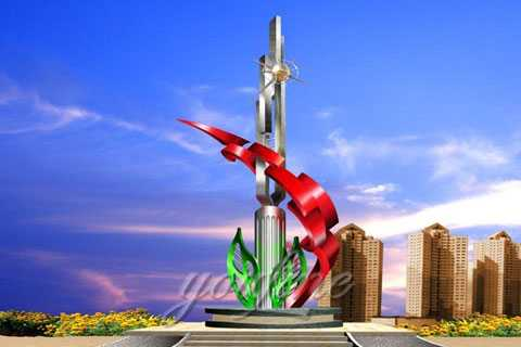 Modern Product Type Original Stainless Steel Sculpture for Sale