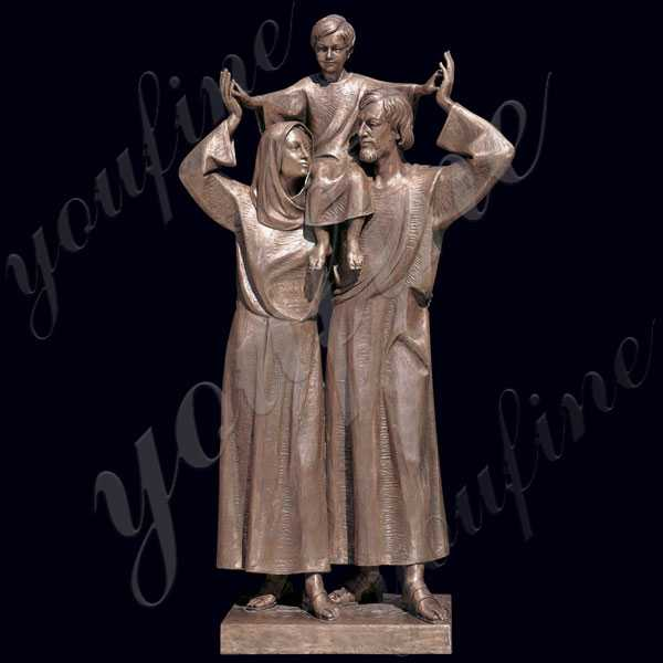catholic religious holy family statue for sale