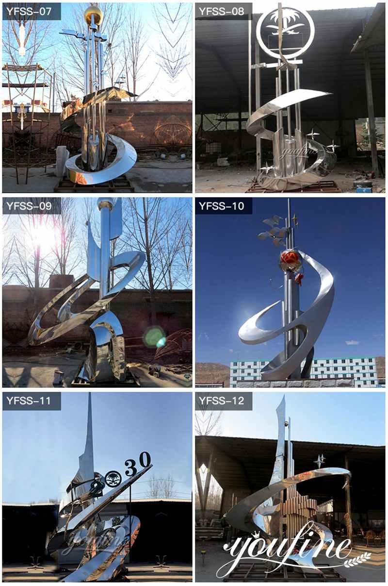 garden metal sculptures