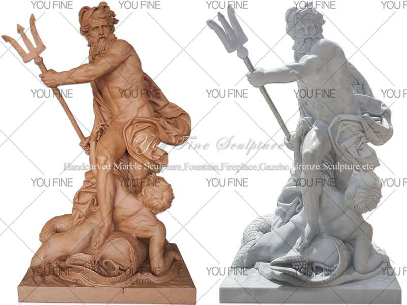 Neptune Poseidon statue