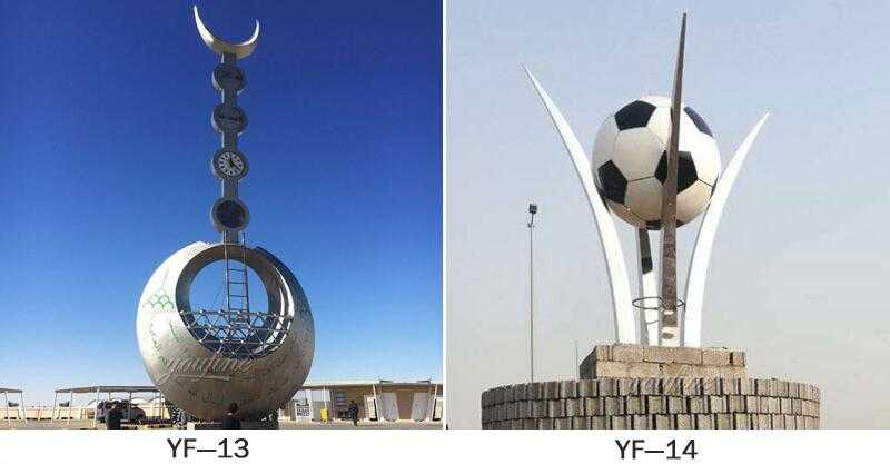 metal garden sculpture ideas UAE