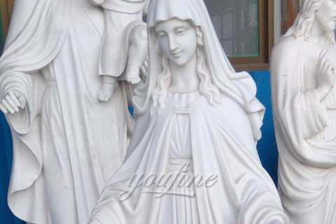 great marble statues of mother mary on discount sale