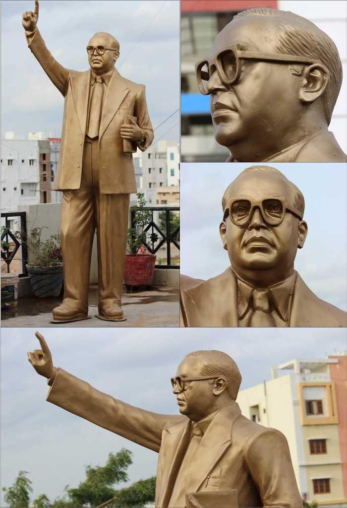 Dr. Ambedkar statue of Pune university