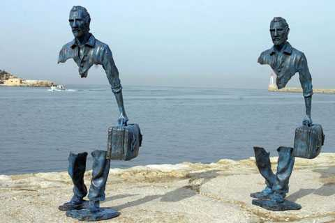 180cm height Bruno Catalano sculpture for the entrance hall of my house hot selling BOK-31