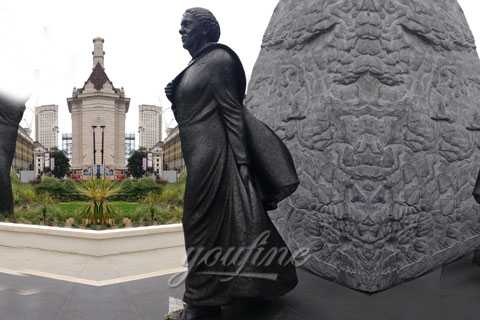 Bronze Mary Seacole statue