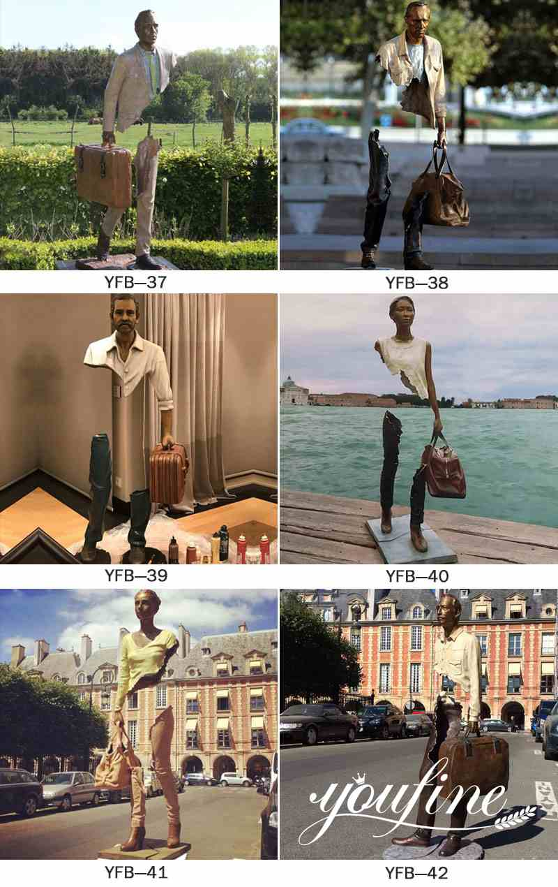 Bruno Catalano Sculpture for the Entrance Hall for Sale