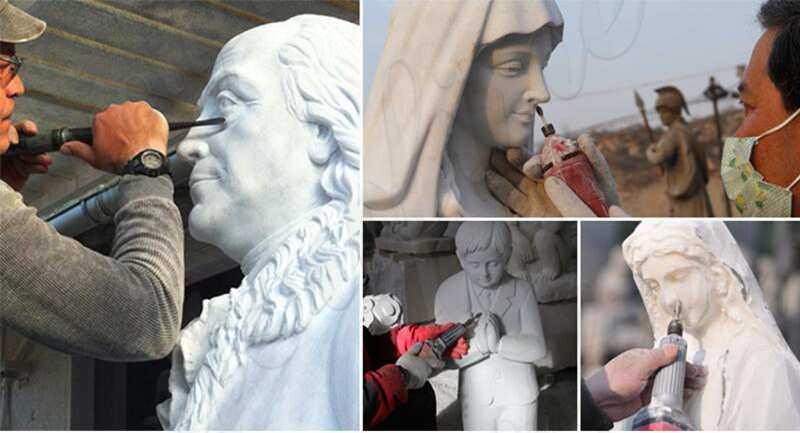 Famous Pieta Marble Statue