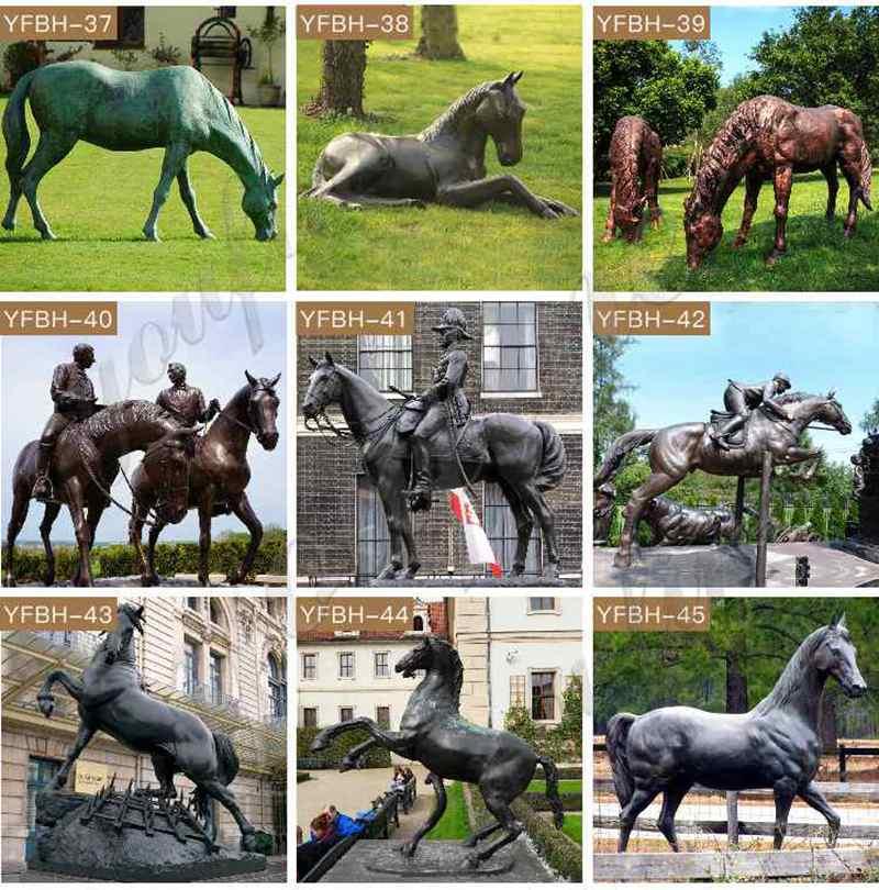 Hot Selling Antique Bronze Horse Sculpture for Sale